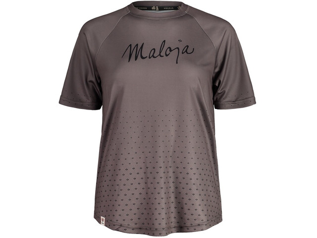 Maloja HaslmausM. Multi 1/2 Short Sleeve Multisport Jersey Women, szary